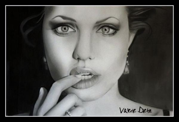 Angelina Jolie by ValerieVally